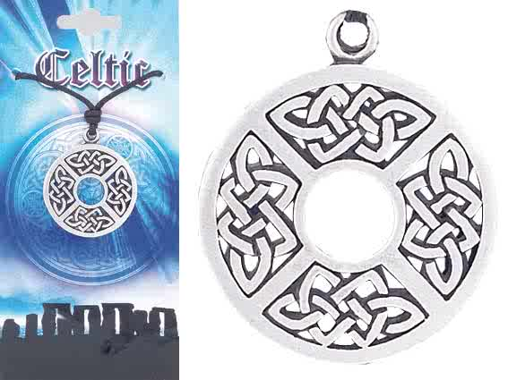 CELTIC Knot Pewter Pendant 1